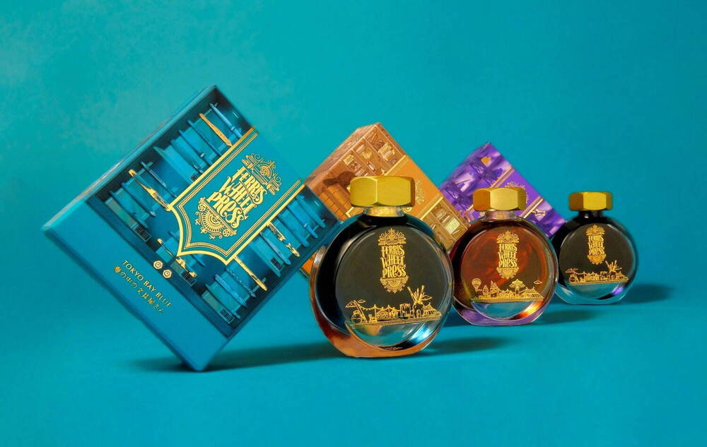 フェリスホイールプレス×銀座蔦屋書店!『魔法にかけられた街』がテーマの香水のようなインクが素敵すぎる!