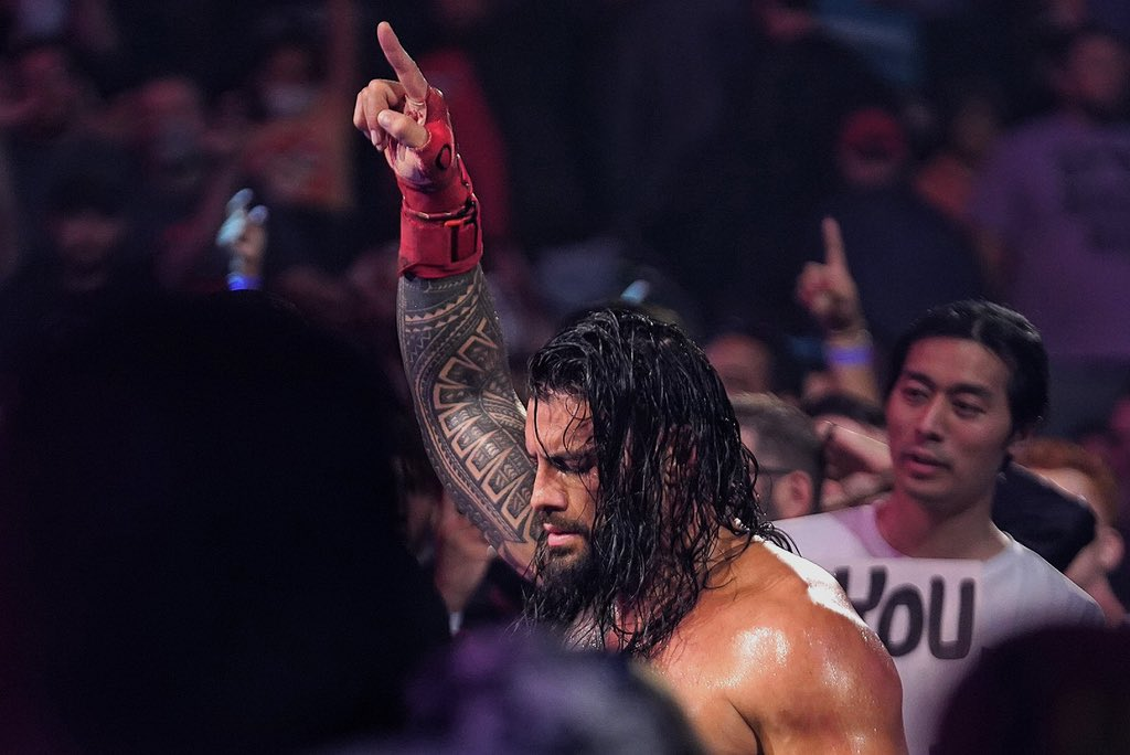 RT @WWERomanReigns: Above all else. #ExtremeRules https://t.co/J2zORI7OdK