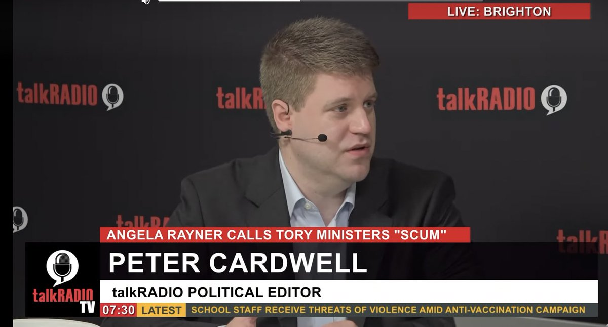 🚨Career news klaxon🚨 I am delighted to be joining @talkRADIO as Political Editor. I will also occasionally present programmes.  Here with @JuliaHB1 at @UKLabour's conference in Brighton this morning.  Many thanks to @talkRADIO supremo @DennieMorris.  Can't wait to get stuck in!