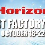 Image for the Tweet beginning: Registration open! horizon smart factory