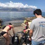 Image for the Tweet beginning: Evasioni Blu Diving Sicily, Palermo