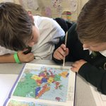 Image for the Tweet beginning: #SJV5OK Used Atlases to locate