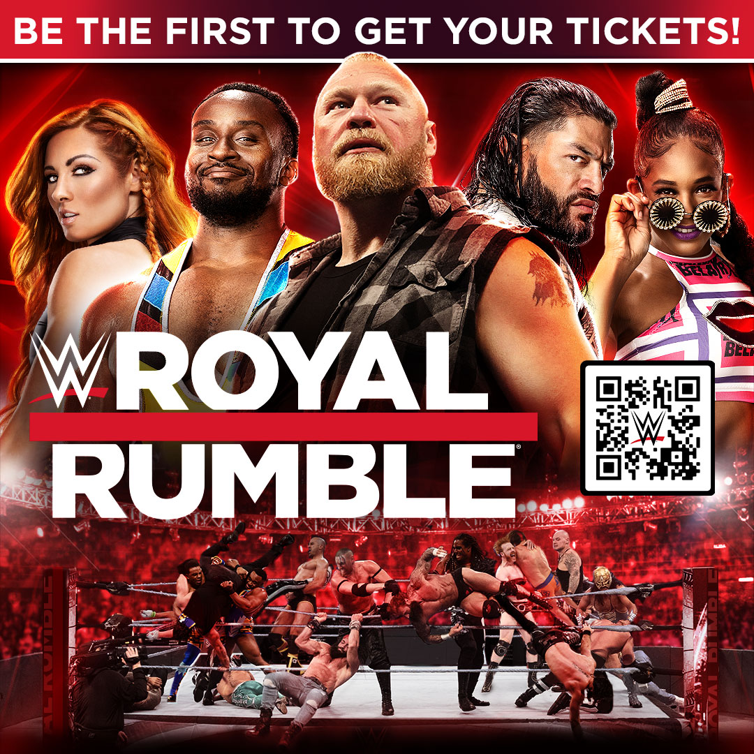 WWE Officially Announces Royal Rumble 2022 Pay-Per-View Event 1