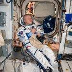Image for the Tweet beginning: Nauka, meet Yuri Gagarin!  Tomorrow we