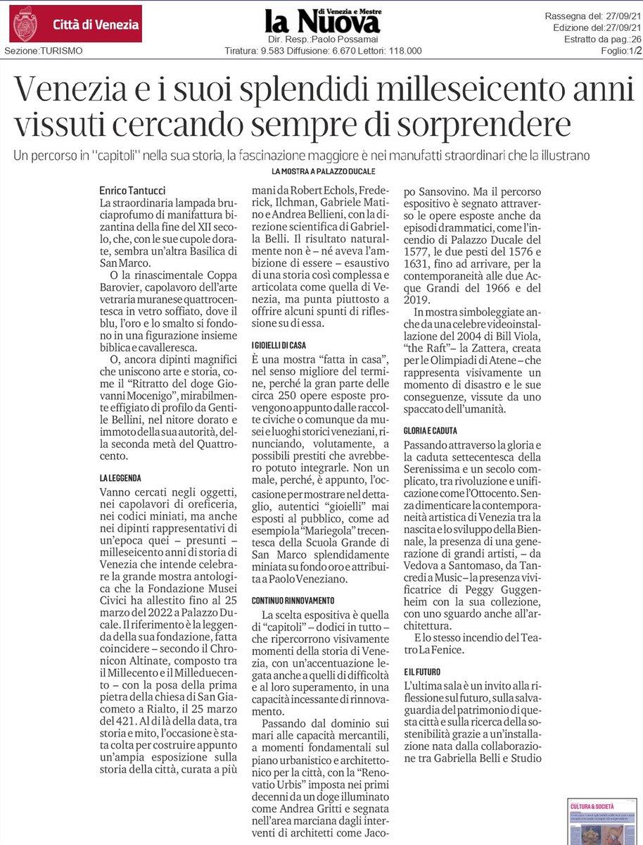 RT @IveserVenezia: #1600anni in mostra al @DucaleV...