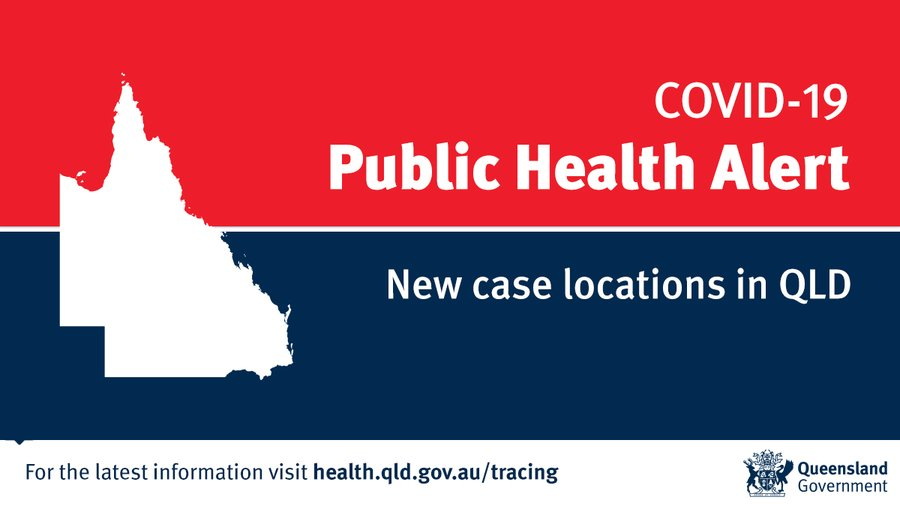 ⚠️ Public Health Alert ⚠️ Queensland Health is issuing new contact tracing locations for: 📍Eatons Hill 📍Albany Creek 📍Aspley 📍Rocklea Full details can be found at: health.qld.gov.au/tracing