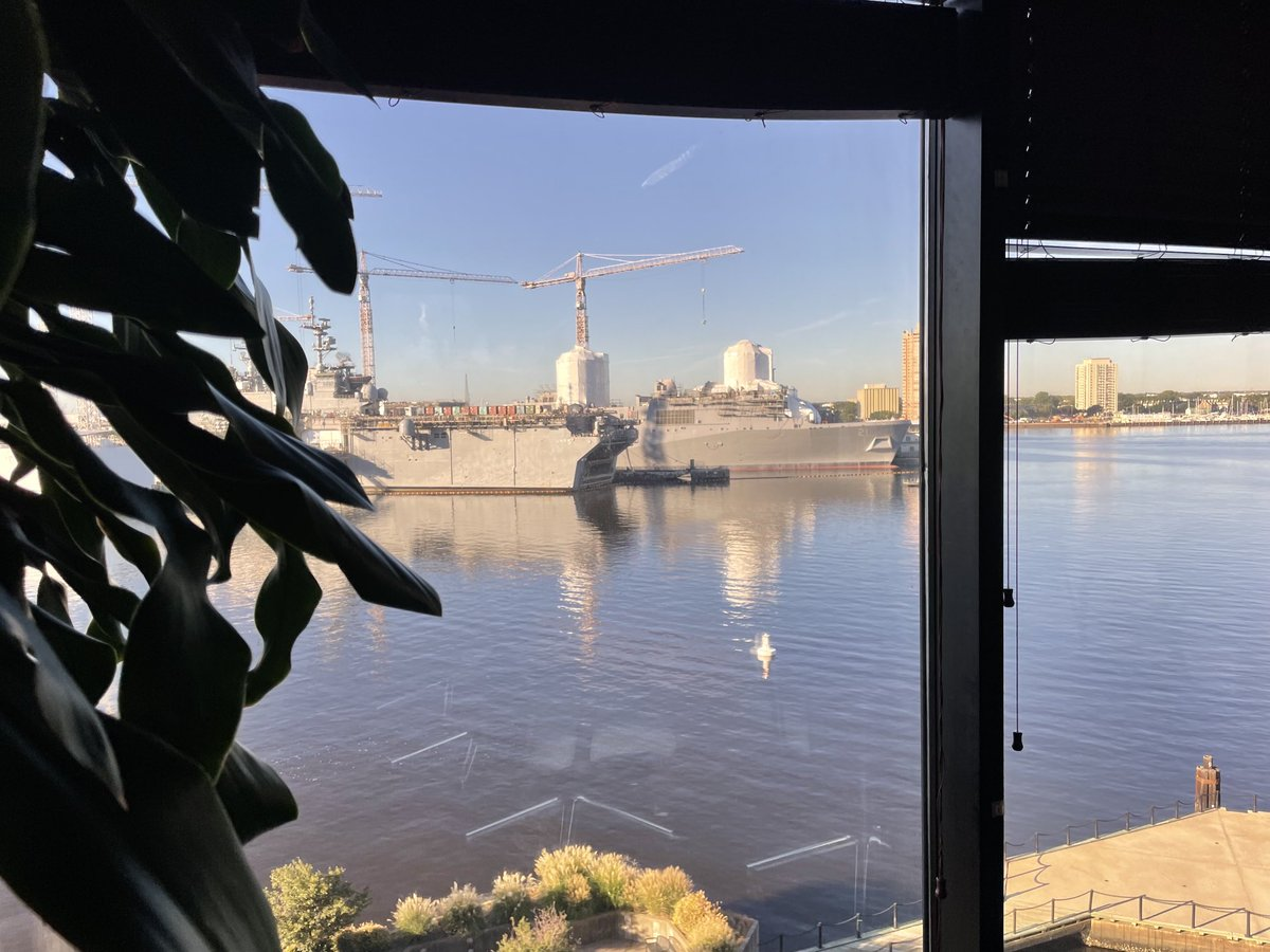 Talk radio with a view! Kerry and Mike are on the air at 9 on AM-790 WNIS. Call in! 757-627-7979
