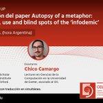 Image for the Tweet beginning: Seminario @CELEUP  Presentación del paper