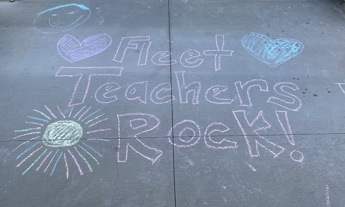 A lovely Monday surprise! Thank you to those we left sweet messages and doodles in front of Fleet. <a target='_blank' href='https://t.co/mbV9gmvSt2'>https://t.co/mbV9gmvSt2</a>