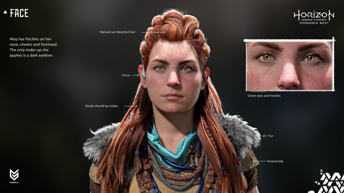 What's next for the outcast turned heroic Machine hunter?   From art design to storylines, @Guerrilla reveals how they're evolving Aloy for Horizon Forbidden West: play.st/3zLuxXp