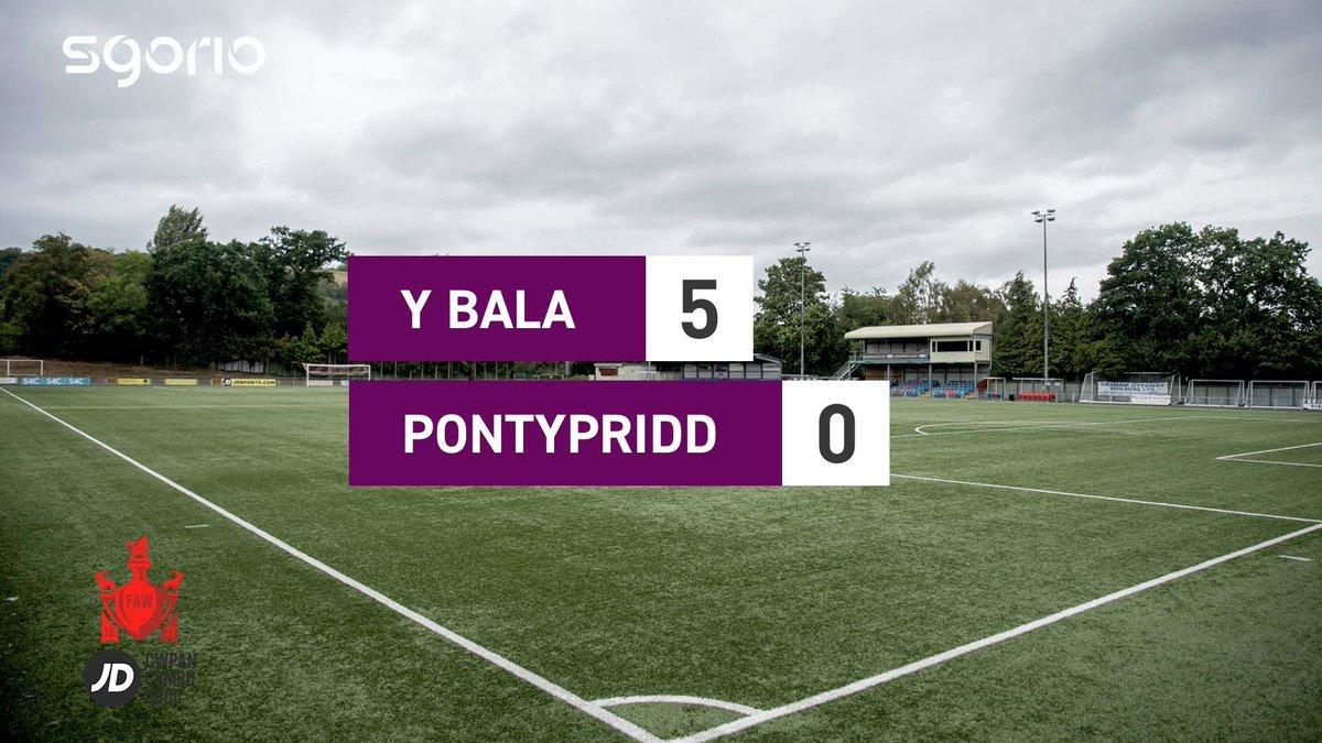 Image for the Tweet beginning: Uchafbwyntiau   Highlights  @BalaTownFC 5-0 @PontyTownAFCM