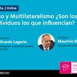 Image for the Tweet beginning: Consenso y Multilateralismo ¿Son los