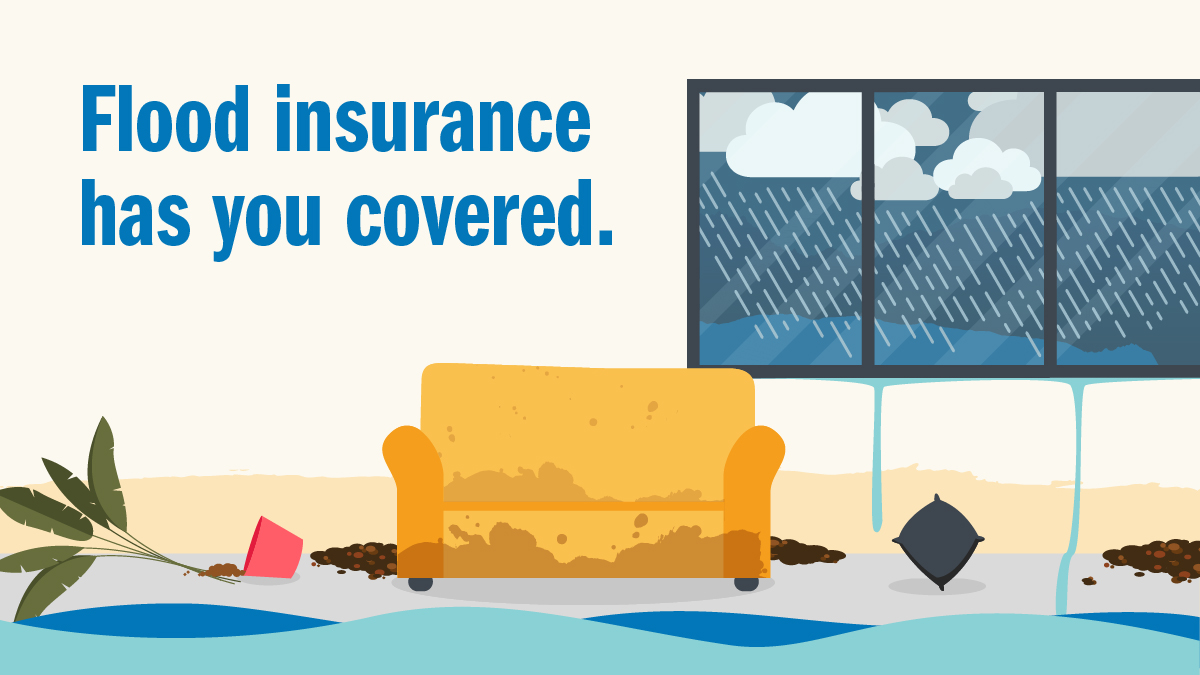Did you know most insurance policies don't cover flood damage? ☑️Flood insurance is a separate policy & takes 30 days to take effect. ☑️One inch of floodwater can cause up to $25,000 in damage. ☑️Drought and wildfires increase the risk of flooding. ☑️Visit https://t.co/91gkDwA636