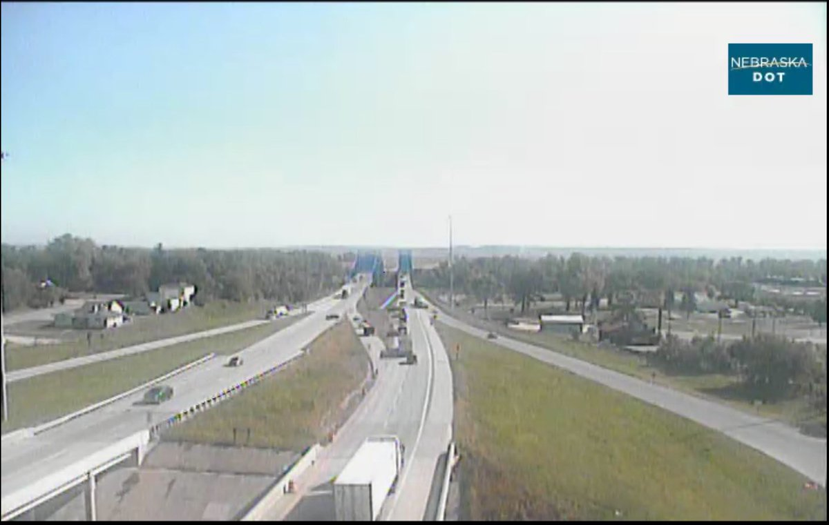 Image posted in Tweet made by Omaha Hwy Conditions on September 27, 2021, 4:12 pm UTC
