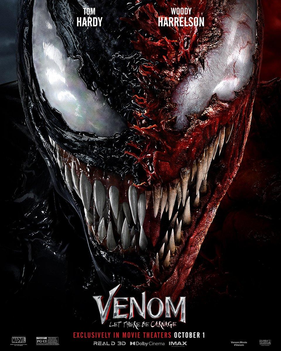 RT @JaredLeto: .@VenomMovie Oct 1 🍿 Can'