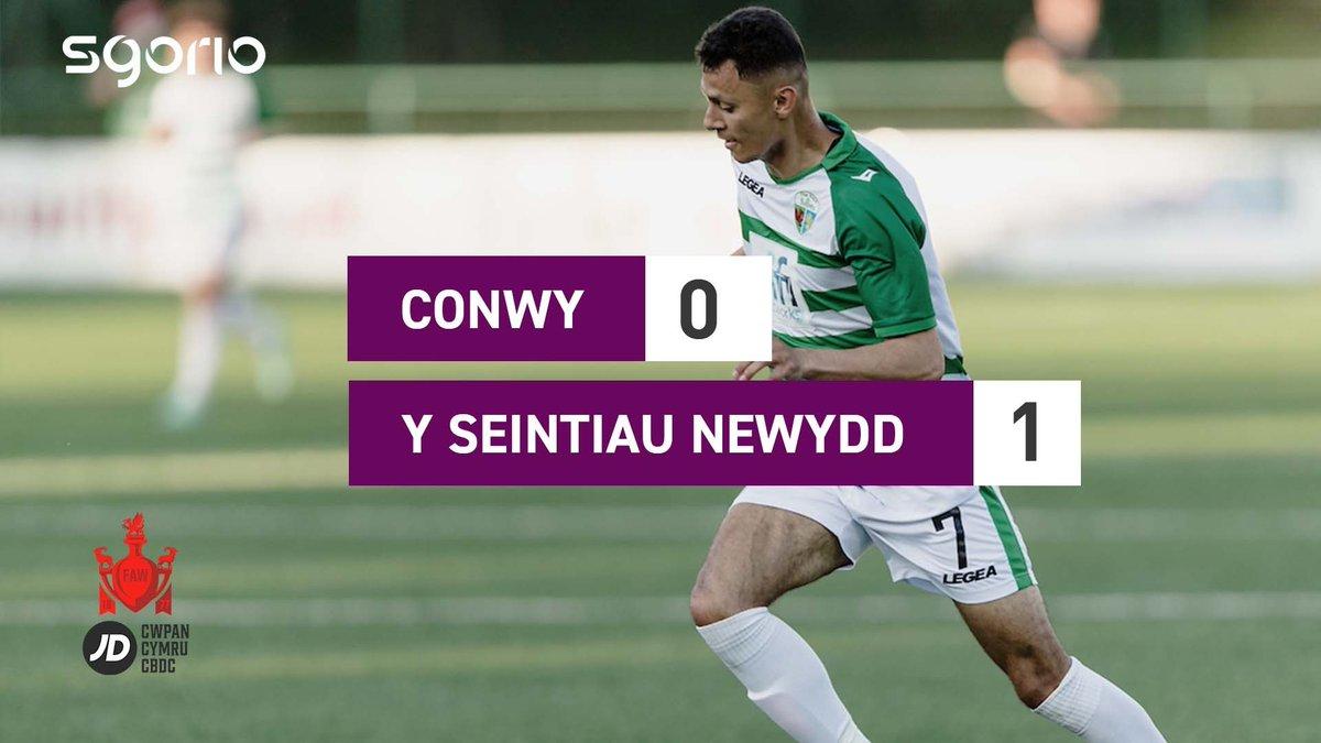 Image for the Tweet beginning: Uchafbwyntiau   Highlights  @ConwyBoroughFC 0-1 @tnsfc