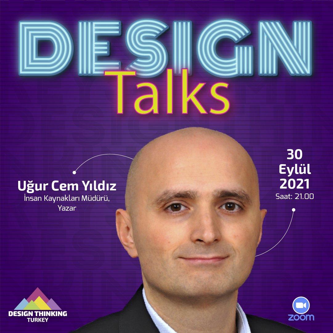 @dtturkeysummit Eylül ayı konuğumuz TOFAŞ İnsan Kaynakları Grup Müdürü ve İnsan Odaklı Tasarım kitabı yazarı Sevgili @ugurcemyildiz   'Design Thinking ile İnsandan Başlayarak Yaratıcı Çözüm Geliştirme' konusuyla 30 Eylül    Saat  21.00'da sizlerle!