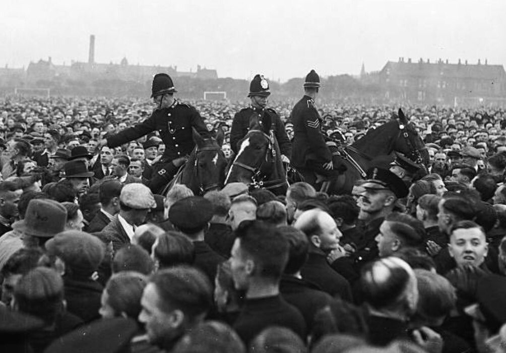 Today marks the 85th anniversary of the Battle of Holbeck Moor, when over thirty thousand working class people, led by members of the communist party in Leeds, banded together to successfully drive Oswald Mosley and the BUF out of the city.