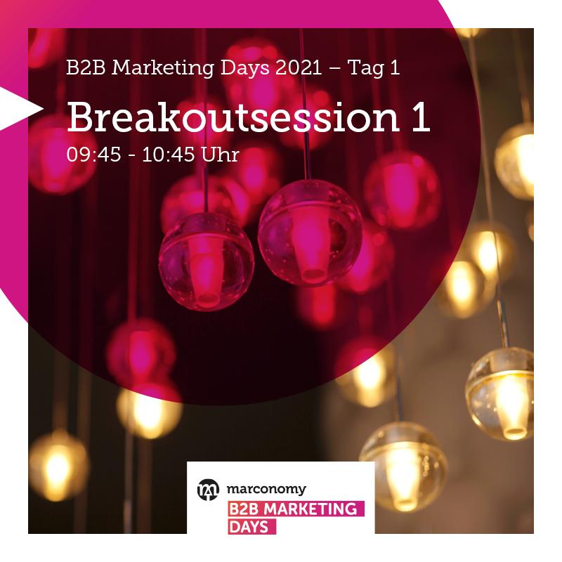 Du möchtest dich mit anderen B2B Marketern zu aktuellen Marketing Themen, wie #CustomerExperience #LeadDevelopment oder #SocialSelling austauschen? 💬 https://t.co/Z2QYoR42l2