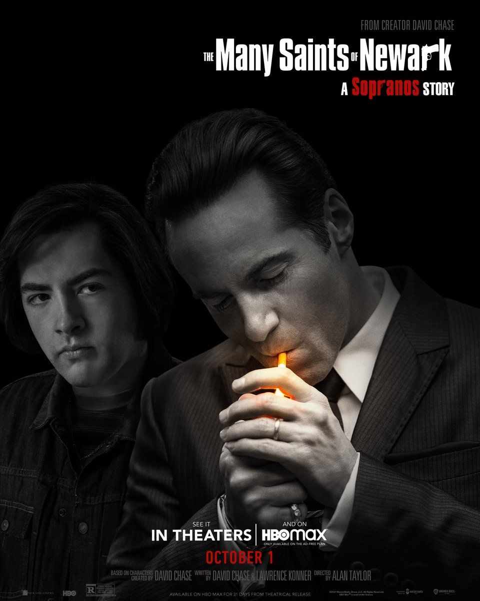 .@newarkmovie is a compelling mobster drama that unfolds the origin story of #TonySoprano – the family, circumstances and decisions that pave the path for becoming the most iconic mob boss of all time.   We're giving away FOUR tickets to an advanced screening today at 4:40 PM!