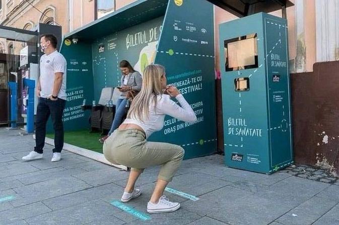 ルーマニアの都市クルジュ=ナポカはスクワット20回でバスの乗車賃が無料