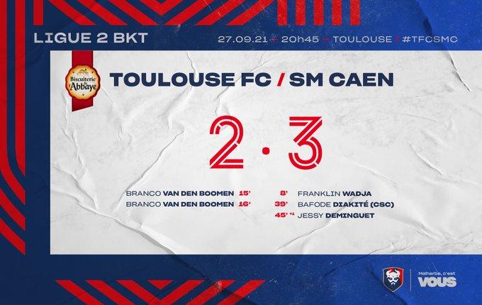 [10è journée de Ligue 2] Toulouse FC - SM Caen FAUa3H0WUAEdWLM?format=jpg&name=small