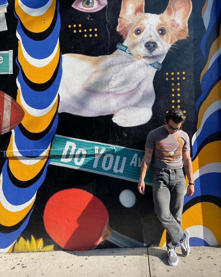 lo amo! es yo en los murales de palermo tratando de salir #cashual   a mi, por ejemplo, no me sale.