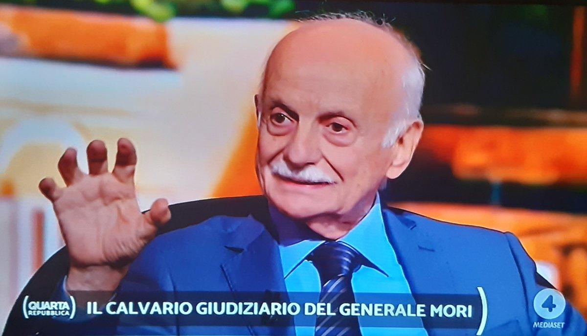 Sono passati 30 anni: ma a @Palazzo_Chigi ed al @Quirinale, qualche riflessione su quanto ha raccontato il Gen. Mario #Mori sulla lotta alla mafia, a #Palermo, ai tempi dei giudici #Falcone e #Borsellino, andrebbe fatta... #QuartaRepubblica #Rete4