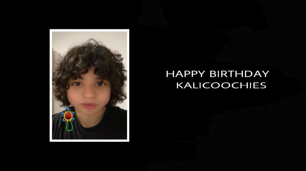 Beyoncé wishes Kalicoochies a happy birthday.