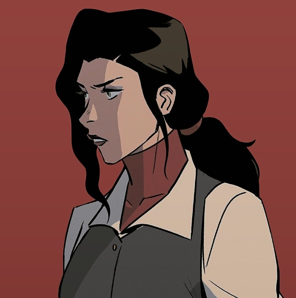 korra and asami are objectively the most gorgeous girls ever