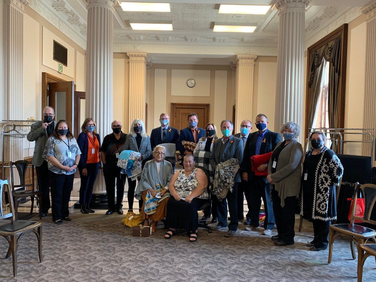 test Twitter Media - Honored to participate in a blanket ceremony with my  colleagues, put on by the Student Achievement and Inclusion Division of MB Education.   Thank you especially Grandmother Ivy Chaske and Knowledge Keeper Myra Laramee for sharing your stories and wisdom. https://t.co/5qnHfBj5v2