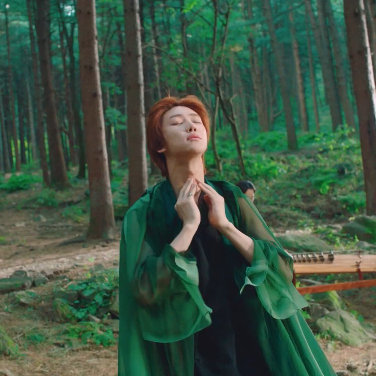 minghao and nature are really a perfect match 🌿  @pledis_17 #THE8 #디에잇
