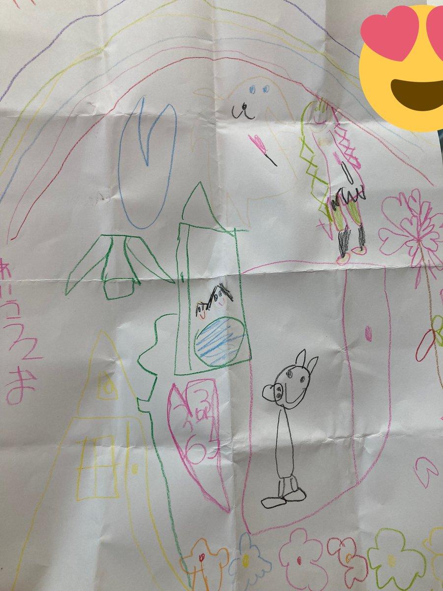 娘の絵は線画が中心。 ちゃんと甘露寺蜜璃ちゃんがわかるのすごくない? ちなみにこの中にシナモンとぺっパピッグが紛れてます。 可愛い世界だなぁ