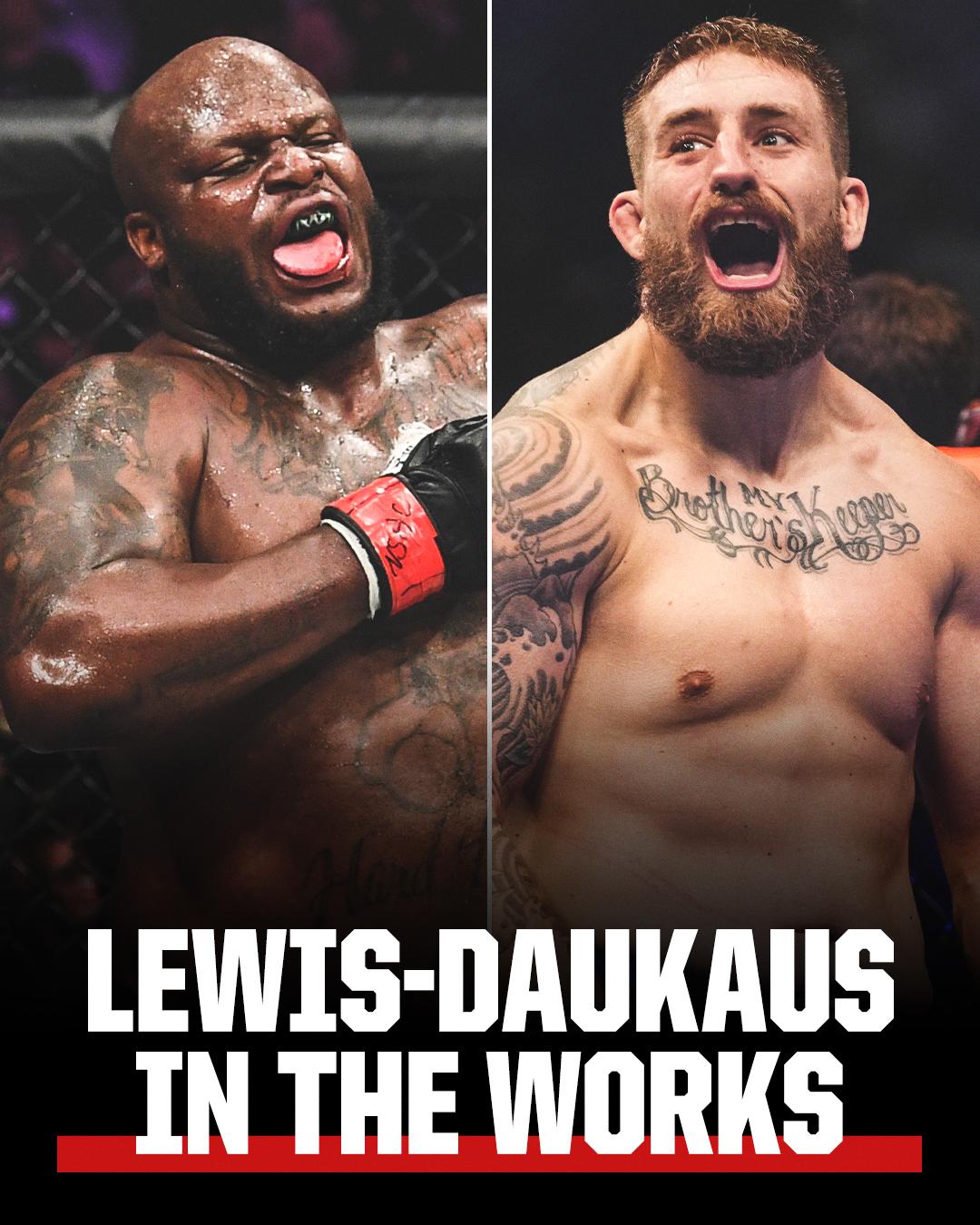 heavyweight main event between Derrick Lewis and Chris Daukaus on Dec. 18