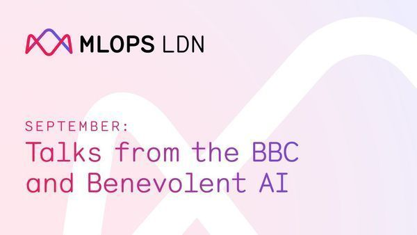 We're at @ThinkRiseLDN this evening for the inaugural #MLOpsLDN Meetup! 🥳 We'll have talks from @tati_alchueyr, Principal Data Engineer at the @BBCRD and Constantinos Neophytou, VP Engineering at @benevolent_ai #MLOps Register here to attend: 👉 buff.ly/3ACoF3C