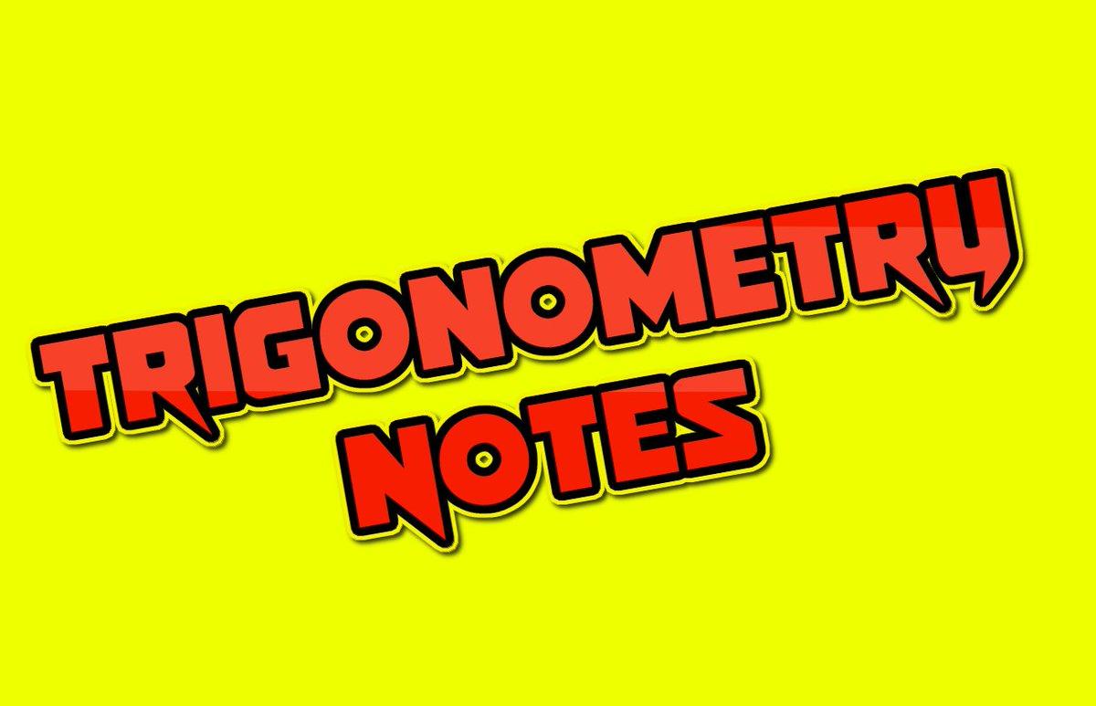 Math ShortCut (Trigonometry) For Competitive Exams | PDF
