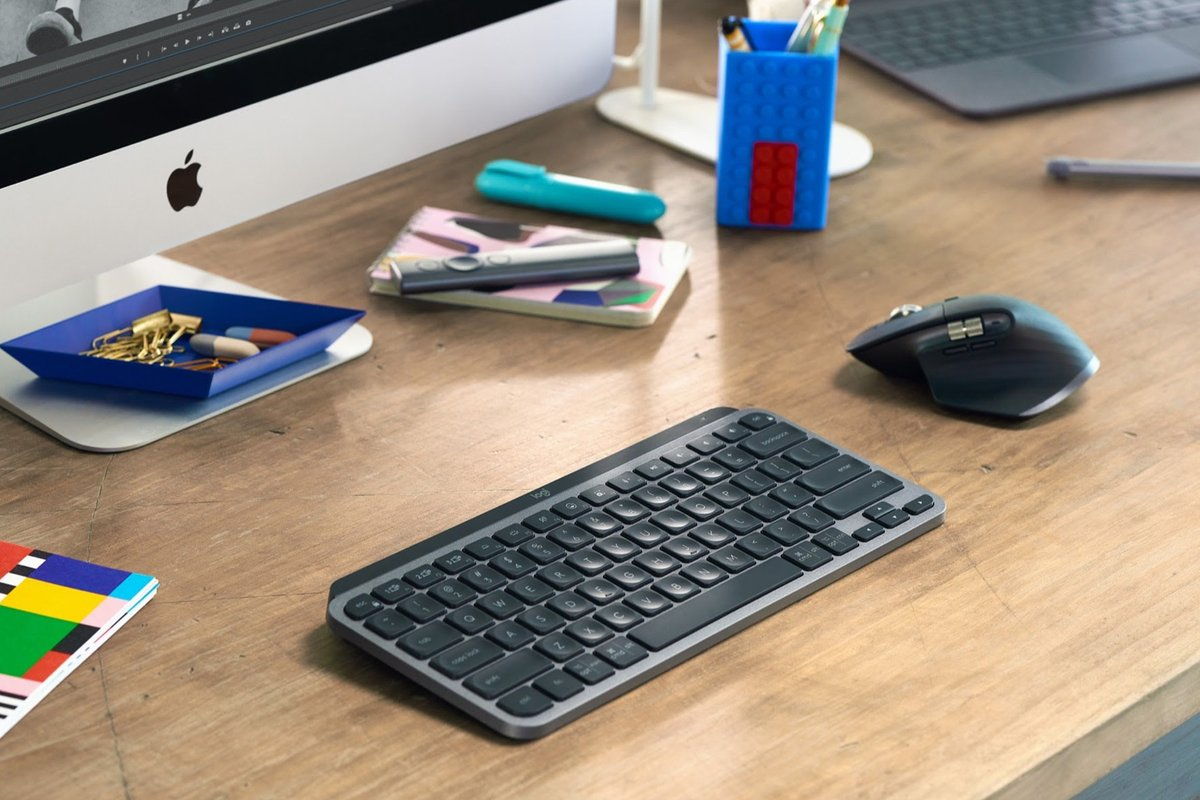 Logitech's MX Keys Mini is a compact keyboard for minimalists