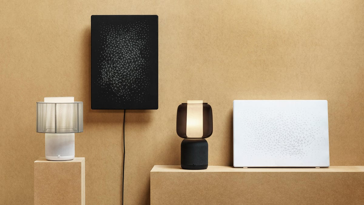 Ikea and Sonos Are Back With a Less Ugly Lamp Speaker