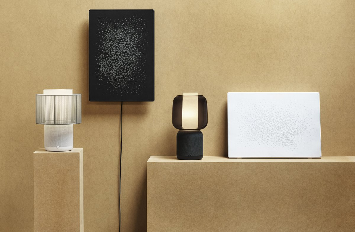 IKEA launches customizable Sonos speaker lamp with swappable shades