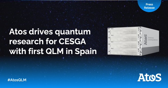 It's a first!🇪🇸 We are proud to deliver the first #quantum simulator in Spain...