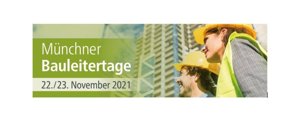 24. Münchner Bauleitertage am 22. und 23. November 2021 diesmal mit den aktuellen Themen: COVID-19 Krise am Bau, die Nachtragsanordnungen nach VOB/B und BGB und die Zukunft der Preisfortschreibung.  https://t.co/TAkOhqhPLQ https://t.co/qiLPoa9g5g