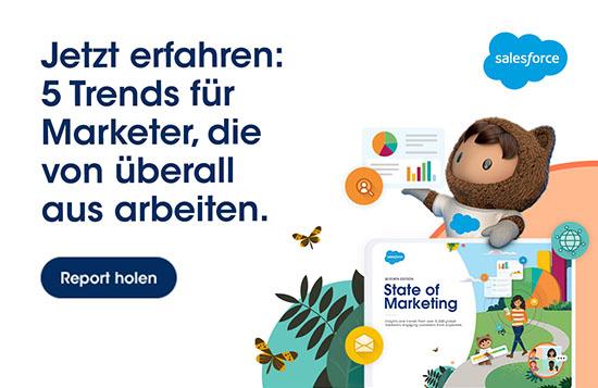 Im Marketing gehört Wandel dazu. Im State of Marketing Report 2021 von @salesforce erfährst du mehr über beschleunigte Digitalisierung, dezentrale Zusammenarbeit, veränderte Messparameter & den Wert aussagekräftiger Daten.   ⇨ https://t.co/fdsU19jh5D https://t.co/lnhRSqyqRz