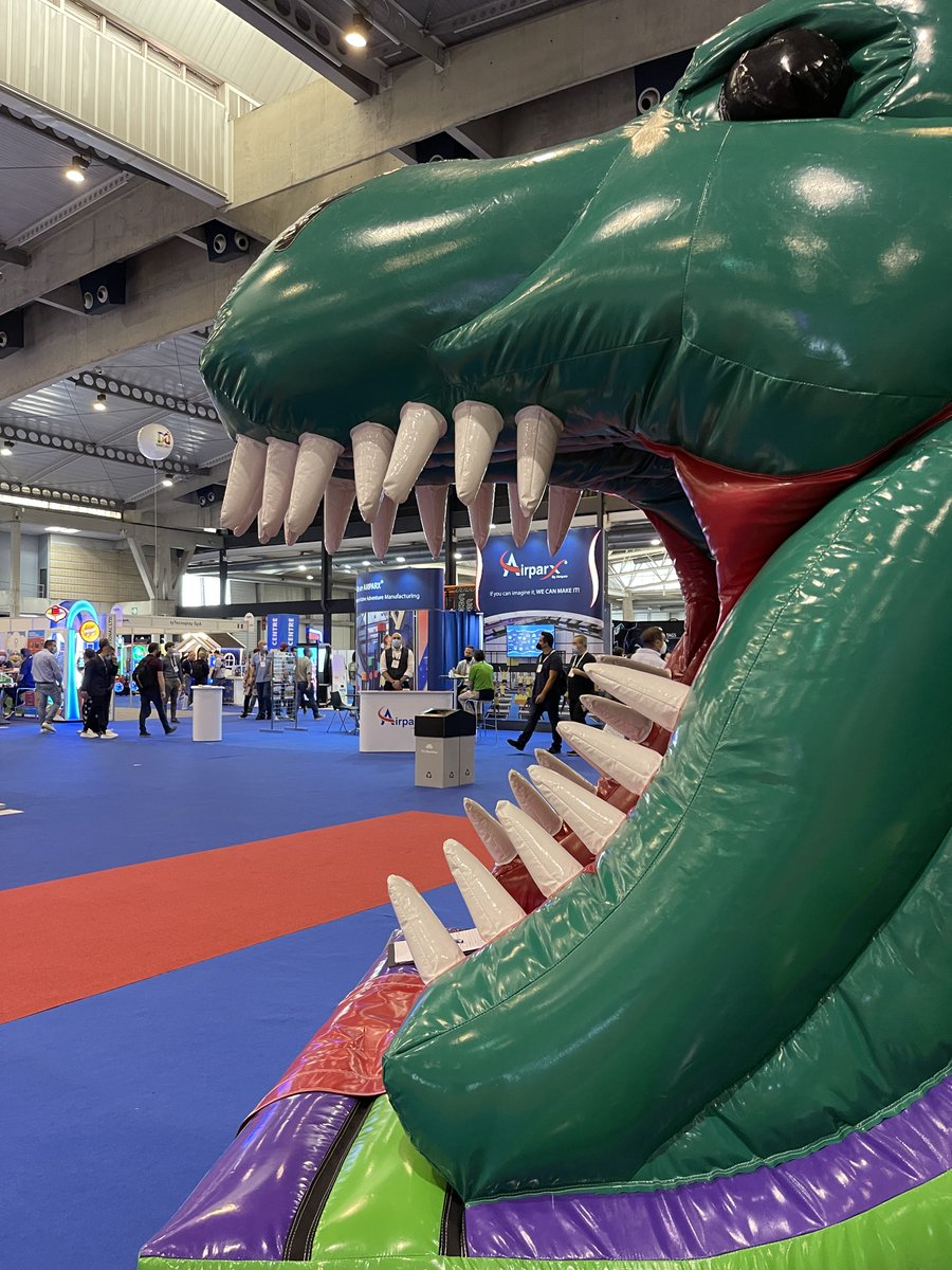 Day 1 at @IAAPAHQ Expo Europe 2021!🎉 Don't forget we are here until until Thursday 30th, visit us on our booth 2-330. #expo #2021Show #airquee #inflatableshow #newproducts #comeandseeus