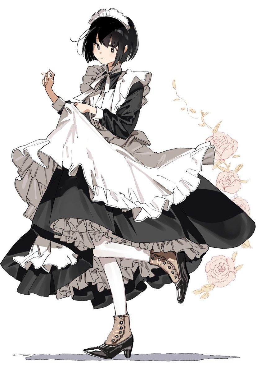 メイドさんのスカートはどれだけ増量してもよい…