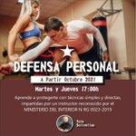 Image for the Tweet beginning: En octubre.. Defensa Personal! Aprende a protegerte