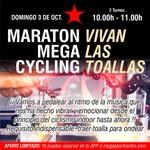 Image for the Tweet beginning: Este domingo día 03 Maratón MegaCycling!  Con