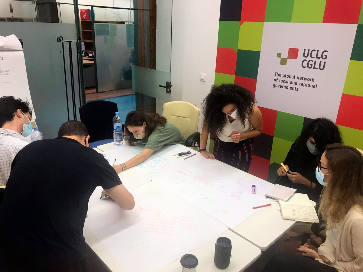 In the kitchen:  🏦 @LocalFinances 👩🏭 Local Economic Development @UclgLed  🗺 #Local4Action on migration 🧏♂️ Accessibility ⛈ #Resilience & DRR 🌇 Social Inclusion & Human Rights @uclg_cisdp  🤝 #SDGs & Decentralized Cooperation  #LearningWithUCLG #Local4Action