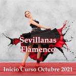Image for the Tweet beginning: Inicio Curso Sevillanas y Flamenco! En