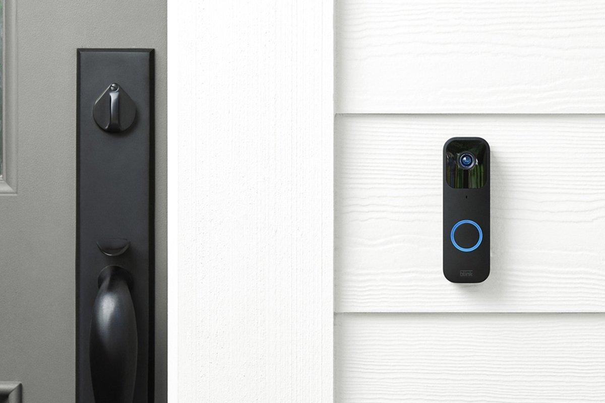Amazon's Blink unveils a no-frills $50 video doorbell