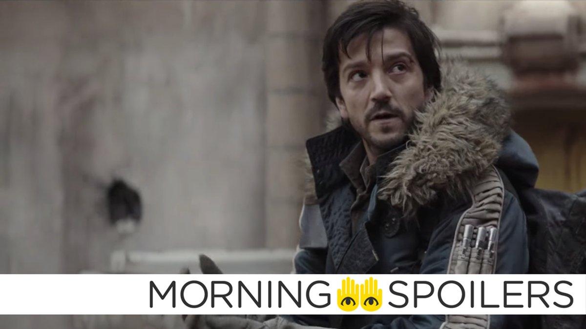Star Wars' Diego Luna Teases Familiar Returns in Andor